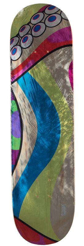 Takashi Murakami, 'Dobtopus (three works)', 2017, Other, Screenprints in colors on skate decks, Heritage Auctions