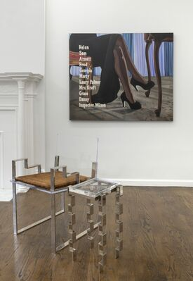 """Applausible"" - Charles Hollis Jones & Kristen Thiele, installation view"