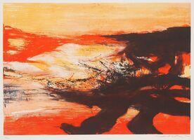 Zao Wou-Ki 趙無極, 'Untitled ', 1974