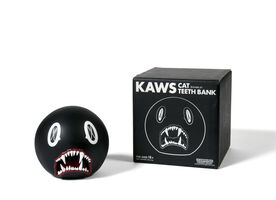 KAWS, 'CAT TEETH BANK (Black)', 2007