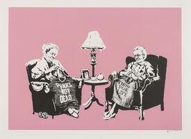 Banksy, 'Grannies', 2007