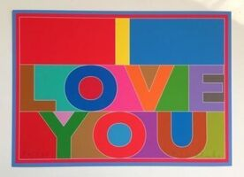 Peter Blake, 'I Love You (Car Boot Fair)', 2013