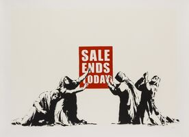 Banksy, 'Sale Ends (LA Edition)', 2007
