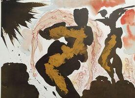 "Salvador Dalí, 'Animam et corpus trado pro patriis legibus - From ""Biblia Sacra""', 1964"