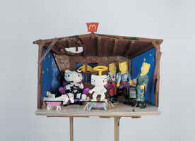 Tom Sachs, 'Hello Kitty Nativity', 1994