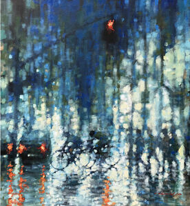 David Hinchliffe, 'Night Streetscape', 2020