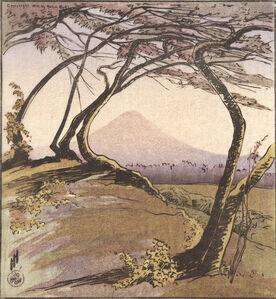 Helen Hyde, 'Mount Orizaba', 1912