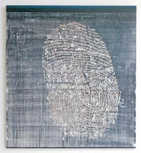 Walter Swennen, 'Le pouce', 2008