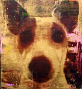 Andreas Reimann, 'Opi from Monaco (Dog) #640', 2014