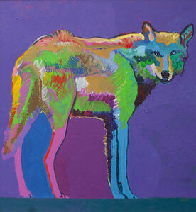 John Nieto, 'Mexican Wolf Medicine', 1991