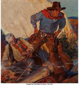 Howard Scott, 'King Kolt, Wild West Weekly magazine cover, November 16, 1935'