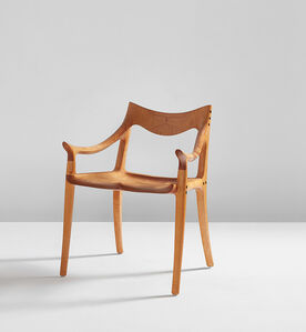 Sam Maloof, 'Low back side chair', 1988