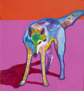 John Nieto, 'Canis Lupus\Wolf', 1991