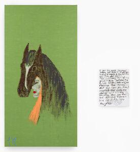 Jenny Watson, 'Horse sense', 2019