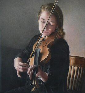 Jeremy Smith, 'Girl With a Violin'