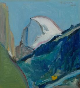 Gregory Kondos, 'Half Dome', 2010