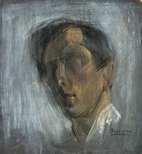 Umberto Boccioni, 'Autoritratto', 1909 -1910