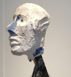 Manuel Neri, 'Untitled (Head)', ca. 1968