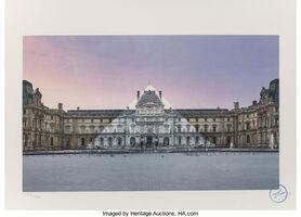 JR, 'Louvre, La Pyramide', 2019