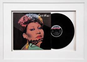 Andy Warhol, 'Vinyl record Aretha', 1986