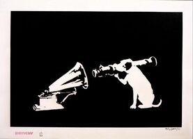 Banksy, 'HMV (Signed Printer's Proof)', 2003