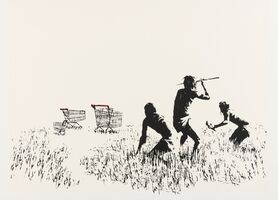 Banksy, 'Trolleys (LA Edition)', 2007