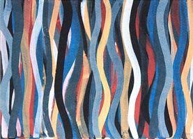 Sol LeWitt, 'Brushstrokes: Horizontal And Vertical II', 1996