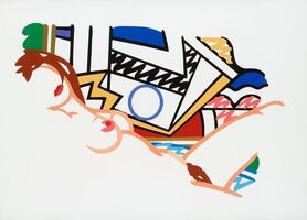 Tom Wesselmann, 'Monica Nude with Lichtenstein', 2002