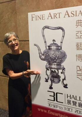 Esmé Parish Silver at Fine Art Asia 2019, installation view