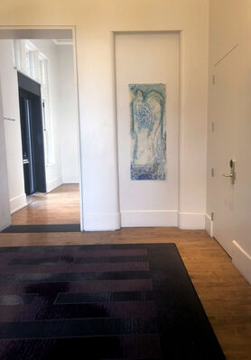 Winter Show: The Corridors Gallery at Hotel Henry, installation view