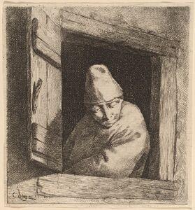 Cornelis Bega, 'The Peasant in a Window'