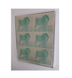 """Bruce Nauman, '""""Untitled"""", 1969,  2-Color Offset Lithograph, SIGNED Edition, Publisher Leo Castelli Gallery NY', 1969"""