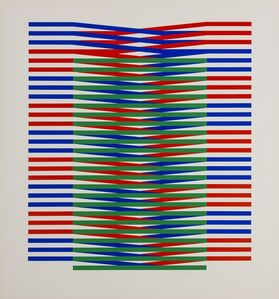 Carlos Cruz-Diez, 'Untitled', 1971