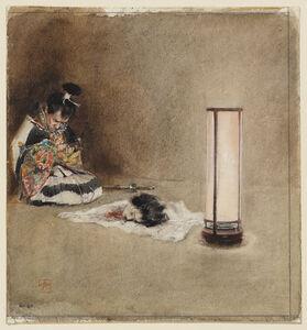 Robert Frederick Blum, 'Endo Morito's Remorse', 1890