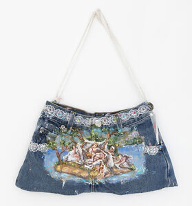Annelie McKenzie, 'Jean Purse Forcefield for Birthing (after Diana Mantuana)', 2018