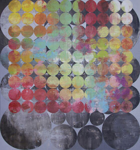Perry Burns, 'Huddle', 2013
