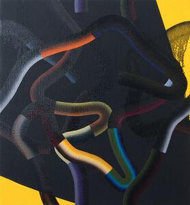 Jeff Perrott, 'RW217 (Yellow Black)', 2017