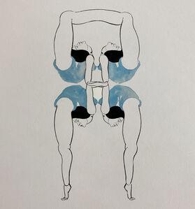 Hayv Kahraman, 'Bend Drawing 2', 2020