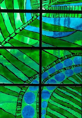 Summer Wheat: Inside the Garden, installation view