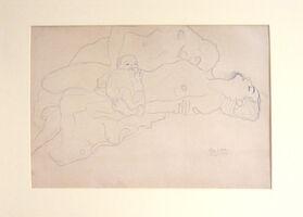 Gustav Klimt, 'Untitled I.IV', 1985