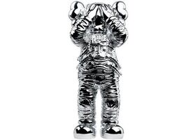 "KAWS, 'Holiday Space: 11.5"" 20th anniversary edition (silver)', 2020"