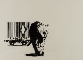 Banksy, 'Barcode (Unsigned)', 2014