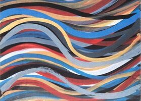 Sol LeWitt, 'Brushstrokes: Horizontal And Vertical XI', 1996