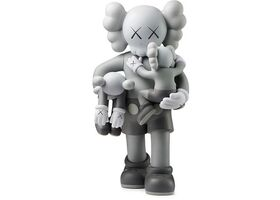 KAWS, 'Clean Slate Vinyl Figure Grey', 2018