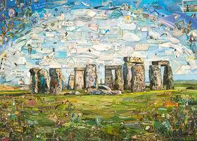 Vik Muniz, 'Postcards from Nowhere: Stonehenge', 2015