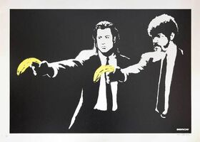 Banksy, 'Pulp Fiction (Unsigned)', 2004
