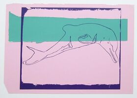 Andy Warhol, 'Vanishing Animals - La Plata River Dolphin', 1986