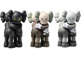 KAWS, 'Together (Brown, Black & Grey) (Set of Three)', 2018