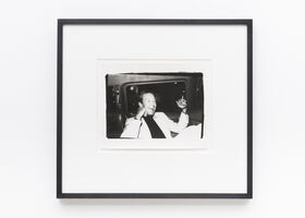 Andy Warhol, 'Halston in a Limo', n.d.