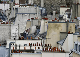 Michael Wolf (1954-2019), 'Paris Rooftops #1', 2014